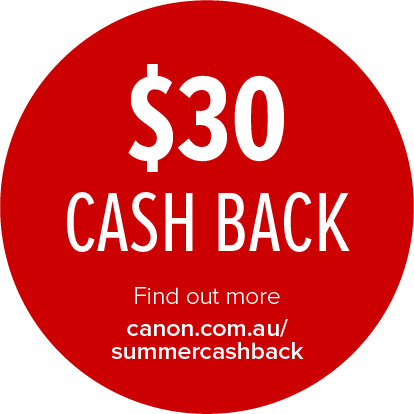 Canon $30 Cashback