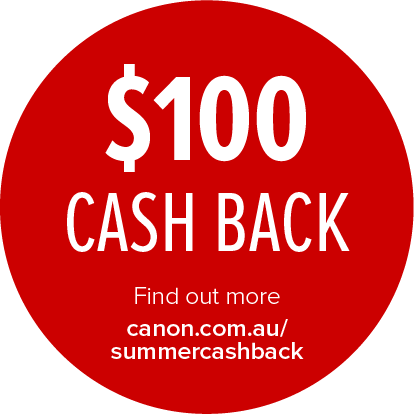 Canon $100 Cashback