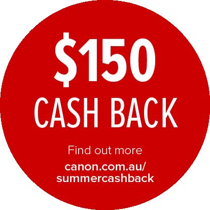 Canon $150 Cashback