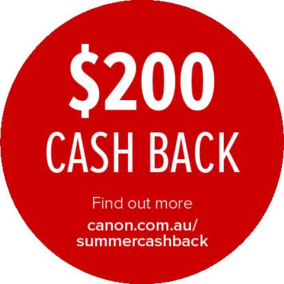 Canon $200 Cashback