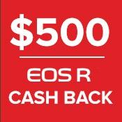 Canon $500 Cashback