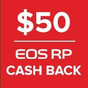 Canon $50 Cashback