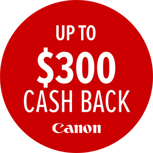 Canon Cashback Offer