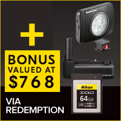 Videographer Pack Via Redemption Valued $768