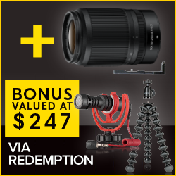Ultimate Vlogger Kit Via Redemption Valued $247