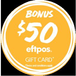 Sony $50 Eftpos Card