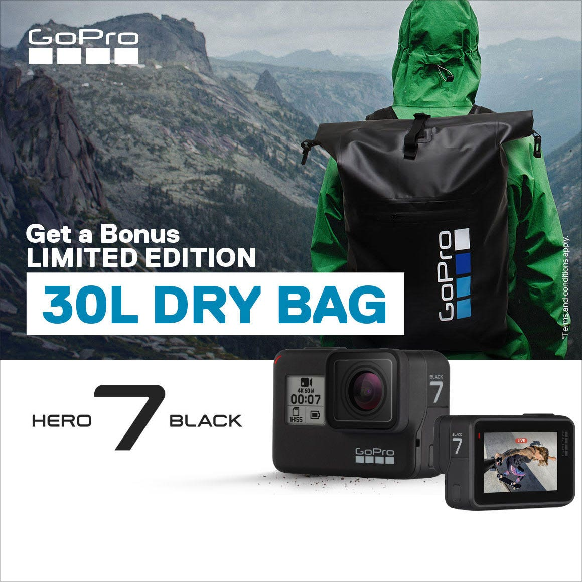 GoPro Hero7 Limited Offer