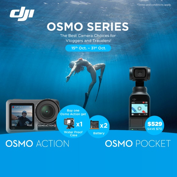 Osmo Series Offer