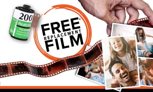 FREE repalcement film - October